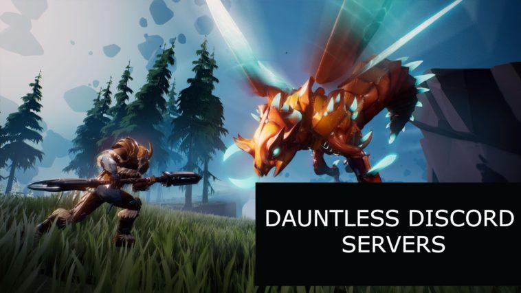dauntless discord servers